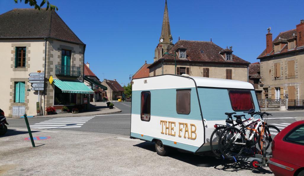 frankrijk met de caravan